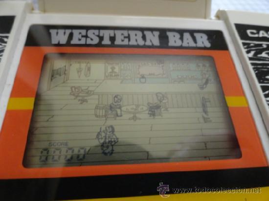 Videojuegos y Consolas: WESTERN BAR CASIO NO GAME WATCH - Foto 4 - 53078817