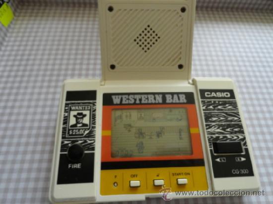 Videojuegos y Consolas: WESTERN BAR CASIO NO GAME WATCH - Foto 2 - 53078817
