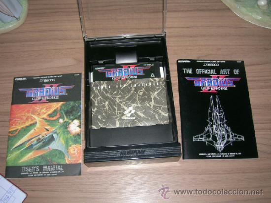 Videojuegos y Consolas: GRADIUS II GOFER Completo X68000 Konami - Foto 2 - 37478546