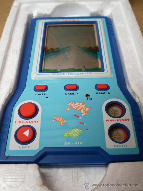 Videojuegos y Consolas: Máquina de juegos LCD Space Revenger SR-41V - Foto 2 - 37901846