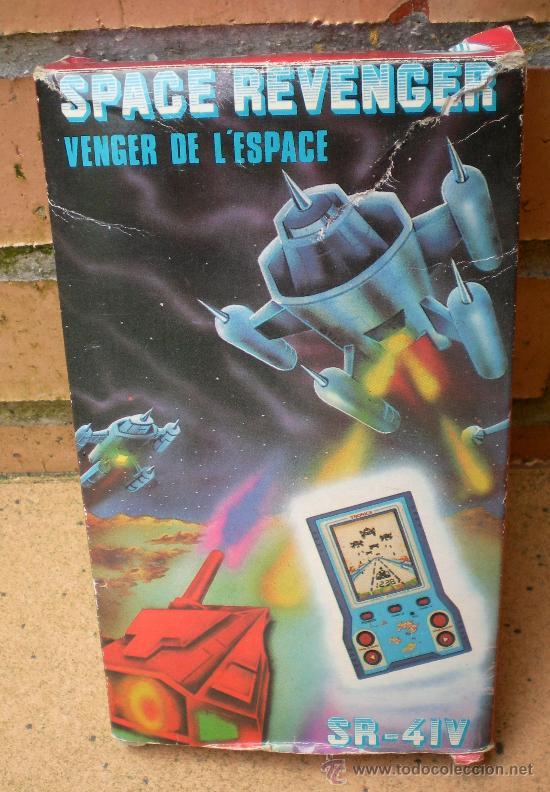 Videojuegos y Consolas: Máquina de juegos LCD Space Revenger SR-41V - Foto 4 - 37901846