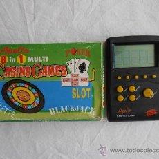 Videojuegos y Consolas: MAQUINITA CASINO POKER CAJA ORIGINAL, INSTRUCCIONES Y FUNCIONANDO. Lote 38590744