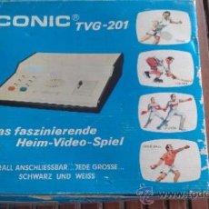 Videojuegos y Consolas: VIDEO CONSOLA CONIC TVG-201 COLECCIONISTAS. Lote 135905146