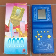 Videojuegos y Consolas: CLASICA CONSOLA BRICK GAME 9999 TETRIS NUEVA A ESTRENAR EN SU CAJA !!!. Lote 104916166