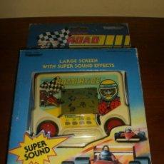 Videojuegos y Consolas: CONSOLA ROAD RACE. AÑOS 80. DE TIGER. COCHE DE CARRERAS. FORMULA 1. A ESTRENAR.. Lote 39840312