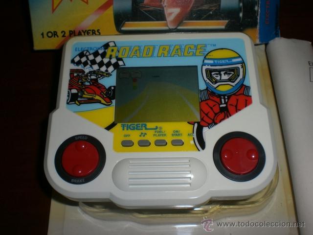 Videojuegos y Consolas: CONSOLA ROAD RACE. AÑOS 80. DE TIGER. COCHE DE CARRERAS. FORMULA 1. A ESTRENAR. - Foto 2 - 39840312