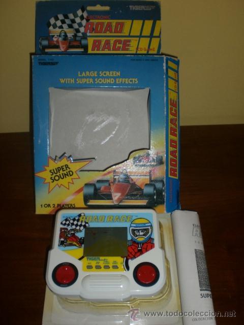 Videojuegos y Consolas: CONSOLA ROAD RACE. AÑOS 80. DE TIGER. COCHE DE CARRERAS. FORMULA 1. A ESTRENAR. - Foto 4 - 39840312