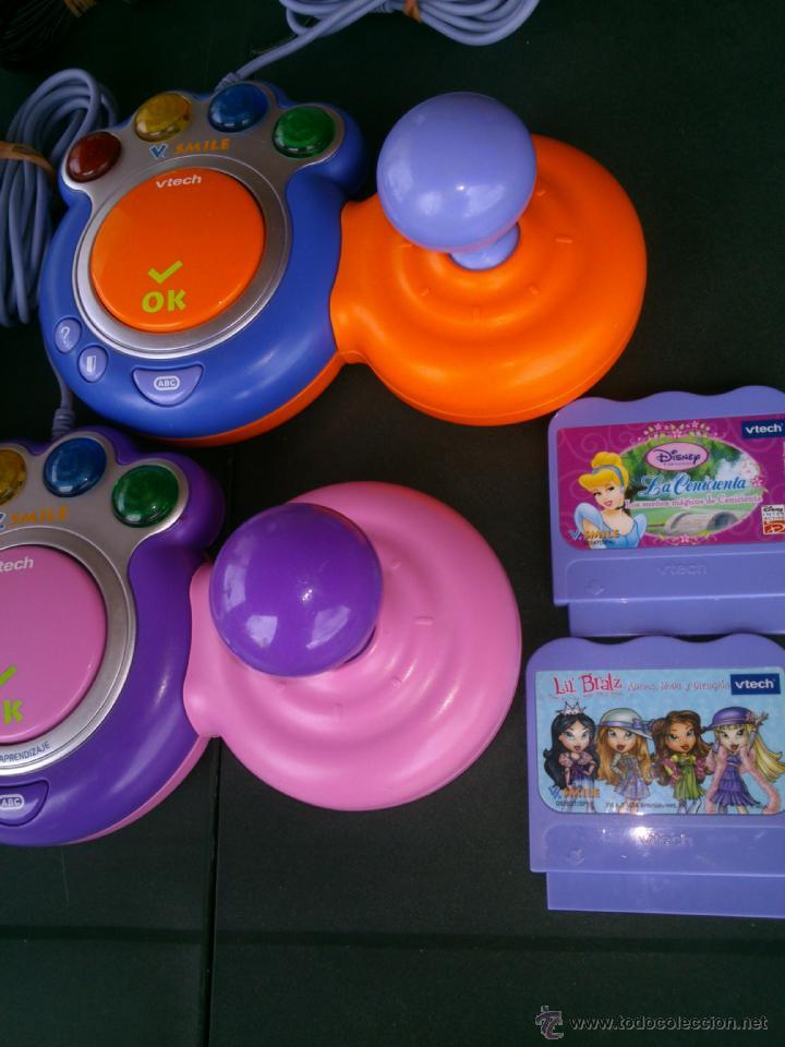 Videojuegos y Consolas: consola infantil v smile completa 2 mandos y 2 juegos - Foto 4 - 40098549