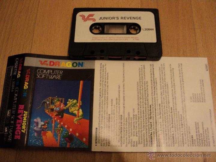JUEGO JUNIOR´S REVENGE DE DRAGON COMPUTER SYSTEM. (Juguetes - Videojuegos y Consolas - Otros descatalogados)