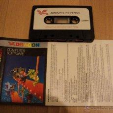 Videojuegos y Consolas: JUEGO JUNIOR´S REVENGE DE DRAGON COMPUTER SYSTEM.. Lote 40129514