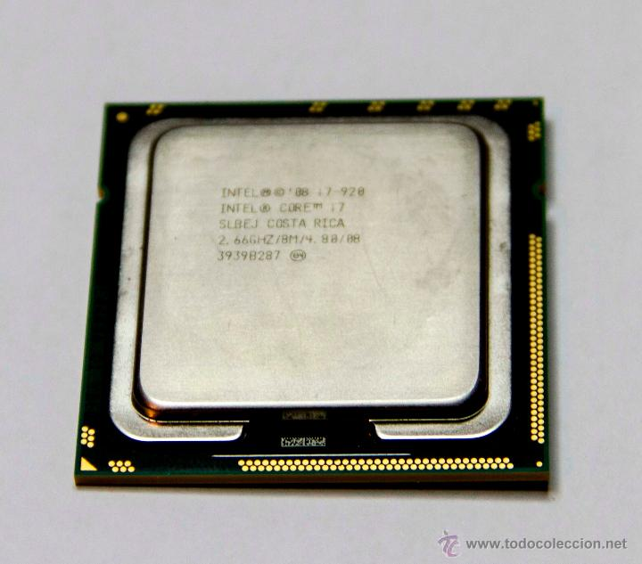 intel core i7-920 2.66ghz socket 1366 seminuevo segunda mano