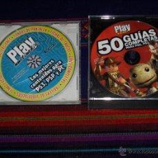 Videojuegos y Consolas: PLAY MANÍA 50 GUÍAS PARA PS2, PS3 Y PSP Y PLAY MULTIMEDIA LOS MEJORES CONTENIDOS PS3, PSP Y PC.. Lote 41037660