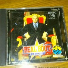 Videojuegos y Consolas: FATAL FURY REAL BOUT - NEO GEO NEOGEO CD. Lote 41318912