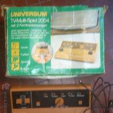 Videojuegos y Consolas: UNIVERSUM TV MACHINE 1975. Lote 34990033