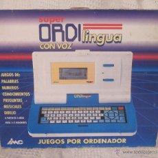 Videojuegos y Consolas: SUPER ORDI LINGUA CON VOZ,IMC,CAJA ORIGINAL,A ESTRENAR. Lote 41710736