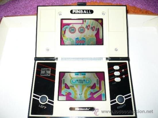 PINBALL NINTENDO GAME & WATCH MULTI SCREEN GAME MAQUINITA (Juguetes - Videojuegos y Consolas - Otros descatalogados)