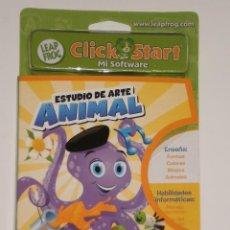 Videojuegos y Consolas: VIDEOJUEGO PARA VIDEOCONSOLA LEAP FROG - ESTUDIO DE ARTE ANIMAL , AÑO 2007 . CEFA TOYS ( ESPAÑA ). Lote 41987092