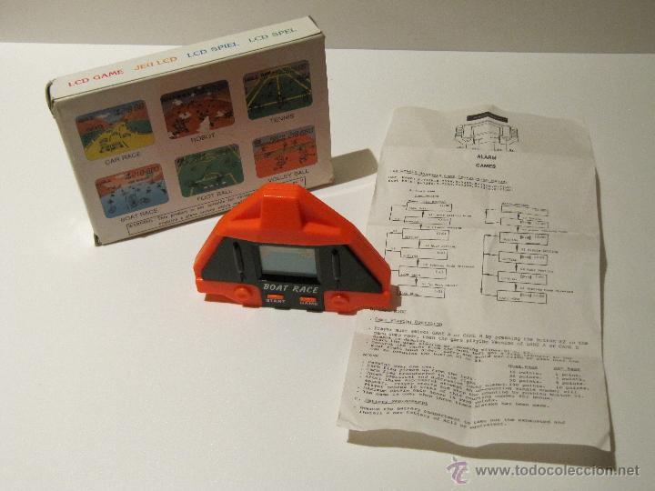 Videojuegos y Consolas: MAQUINITA HANDHELD BOAT RACE AÑOS 80. CON CAJA ORIGINAL E INSTRUCCIONES - Foto 5 - 42096527