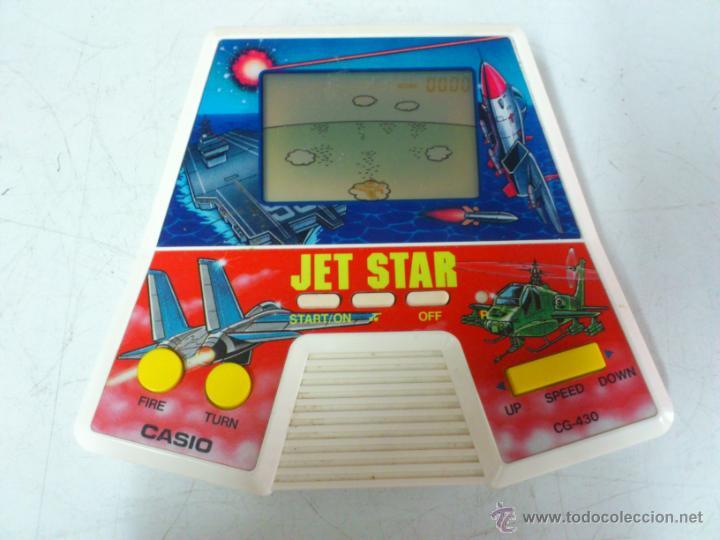 MAQUINITA - CONSOLA JET STAR CASIO CG-430 AÑOS 80. FUNCIONANDO (Juguetes - Videojuegos y Consolas - Otros descatalogados)