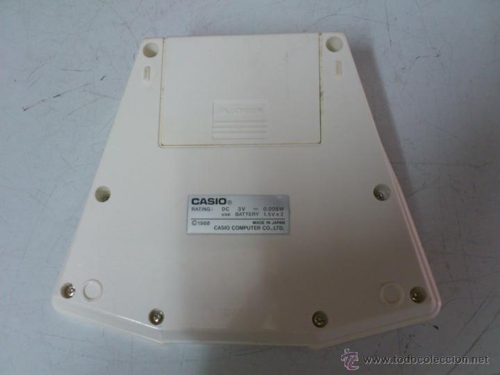 Videojuegos y Consolas: MAQUINITA - CONSOLA JET STAR CASIO CG-430 AÑOS 80. FUNCIONANDO - Foto 4 - 42234563