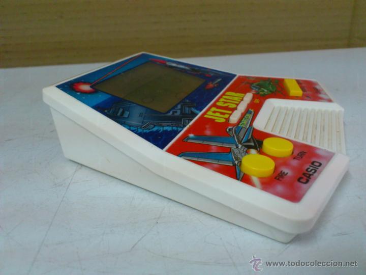 Videojuegos y Consolas: MAQUINITA - CONSOLA JET STAR CASIO CG-430 AÑOS 80. FUNCIONANDO - Foto 5 - 42234563