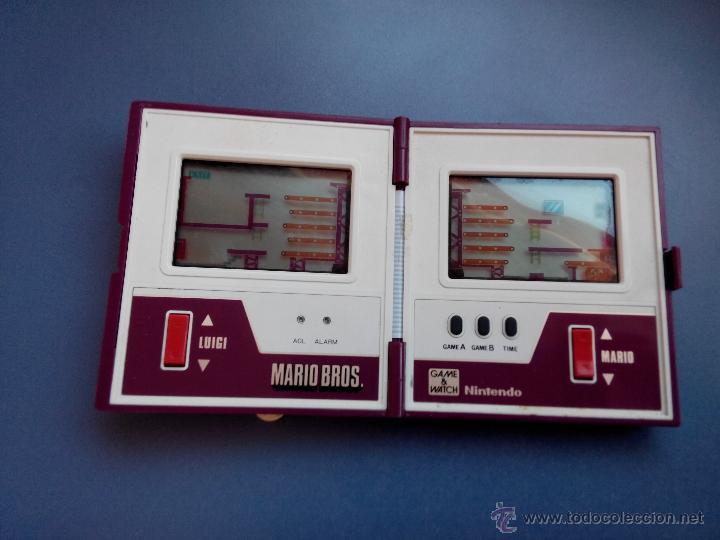 NINTENDO GAME WATCH MARIO BROS (Juguetes - Videojuegos y Consolas - Otros descatalogados)