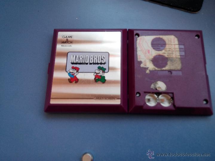 Videojuegos y Consolas: nintendo game watch mario bros - Foto 2 - 96672590