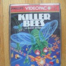 Videojuegos y Consolas: JUEGO KILLER BEES, VIDEOPAC PHILIPS, NUMERO 52. Lote 42801156