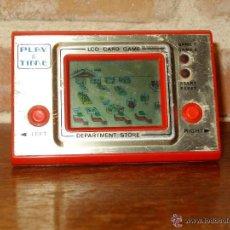 Videojuegos y Consolas: VINTAGE JUEGO ELECTRONICO LCD ANOS 70 DEPARTAMENT STORE DESCATALOGADO.PLAY&TIME.FUNCIONANDO.. Lote 43377218