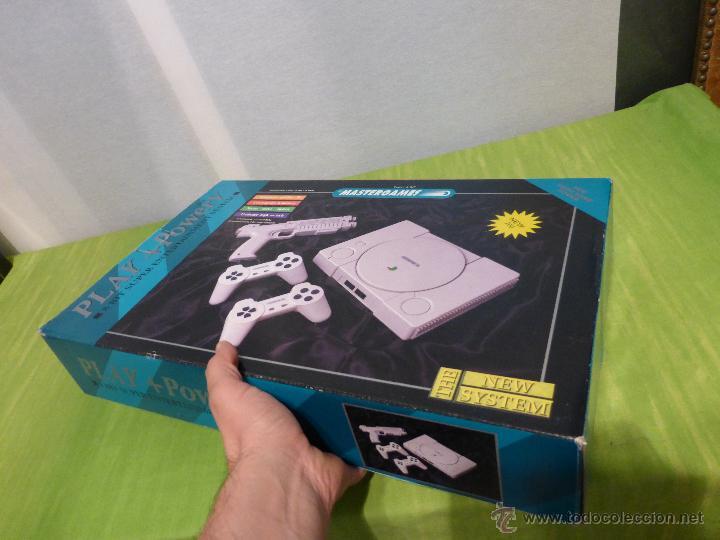 Videojuegos y Consolas: ANTIGUA VIDEO CONSOLA MASTERGAMES EN SU CAJA - NUEVA A ESTRENAR - Foto 2 - 62744751