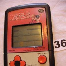 Videojuegos y Consolas: ANTIGUA CONSOLA ROLLING THUNDER MGA-218 - AÑO 1986 NAMCO - FUNCIONANDO. Lote 43998682