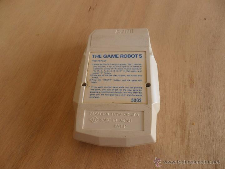 Videojuegos y Consolas: JUEGO MAQUINA THE GAME ROBOT 5 TAKATOKU TOYS MADE IN JAPAN - Foto 4 - 44174849