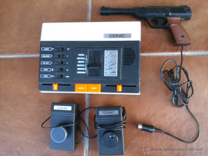 VIDEO CONSOLA CONIC TVG.4010-6. (Juguetes - Videojuegos y Consolas - Otros descatalogados)
