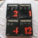 Videojuegos y Consolas: VIDEOPAC PHILIPS JUEGOS 1,2,4,12 COMPLETOS. Lote 45012284
