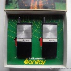 Videojuegos y Consolas: RADIOTELÉFONO SONITOY. DE 1974. Lote 45221543