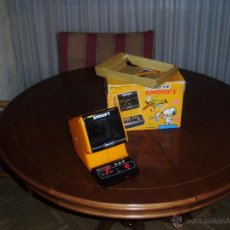 Videojuegos y Consolas: NINTENDO TABLETOP TABLE TOP SNOOPY 1983 CAJA, VINTAGE MARAVILLOSO JUGUETE GAME WATCH. Lote 45932638