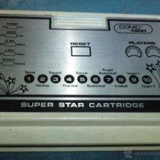 Videojuegos y Consolas: CARTUCHO JUEGOS CONSOLA CONIC.. Lote 46004984