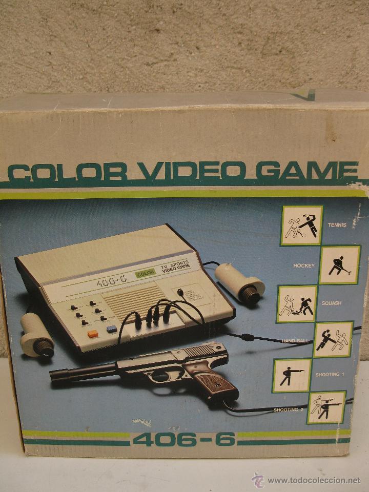 Videojuegos y Consolas: COLOR VIDEO GAME 406-6 - EN SU CAJA ORIGINAL. - Foto 5 - 46078151