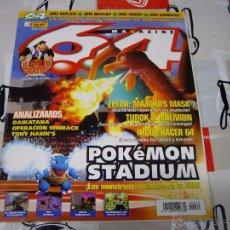 Videojuegos y Consolas: 64 MAGAZINE - REVISTA DE NINTENDO - NUMERO 30 POKEMON STADIUM - EN BUEN ESTADO. Lote 46515791