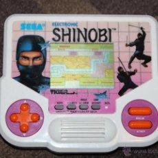 Videojuegos y Consolas: BBB CONSOLA JUEGO ELECTRONICO SEGA ELECTRONIC SHINOBI TIGER AÑO 1988. Lote 47100156