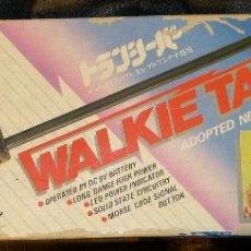 Videojuegos y Consolas: PAREJA DE WALKIE TALKIE DE LA MARCA MAX MODELO M-1700 (MADE IN JAPAN, AÑOS 80). Lote 47133595