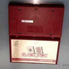 Videojuegos y Consolas: NINTENDO GAME WATCH BLACK JACK. Lote 47336529