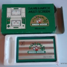 Videojogos e Consolas: NINTENDO GAME WATCH EN CAJA GREEEN HOUSE. Lote 92896354