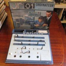 Videojuegos y Consolas: JR 01 ORDINATEUR. BY JOUETS RATIONNELS 1970. Lote 47650096