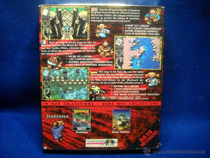 Videojuegos y Consolas: JUEGO MYSTICAL AMIGA PC DE INFOGRAMES - Foto 2 - 47838764