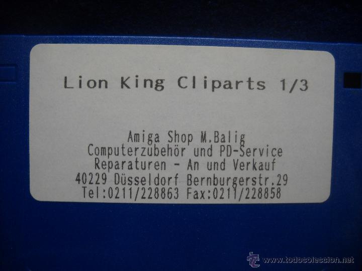 Videojuegos y Consolas: JUEGO REY LEON - LION KING AMIGA PC - Foto 2 - 47838828