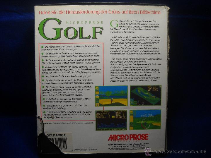 Videojuegos y Consolas: JUEGO GOLF MICROPROSE AMIGA PC - Foto 2 - 47838871