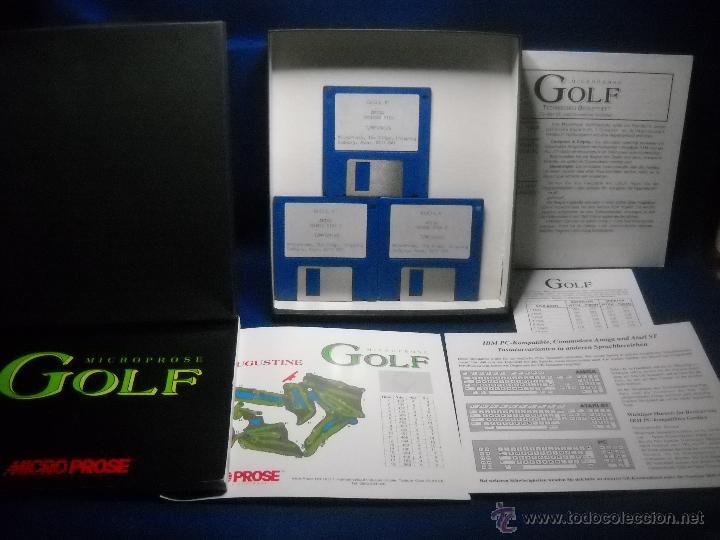 Videojuegos y Consolas: JUEGO GOLF MICROPROSE AMIGA PC - Foto 3 - 47838871