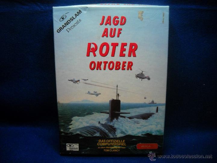 JUEGO JAD AUF ROTER OKTOBER AMIGA PC (Juguetes - Videojuegos y Consolas - Otros descatalogados)