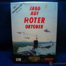 Videojuegos y Consolas: JUEGO JAD AUF ROTER OKTOBER AMIGA PC. Lote 47838901